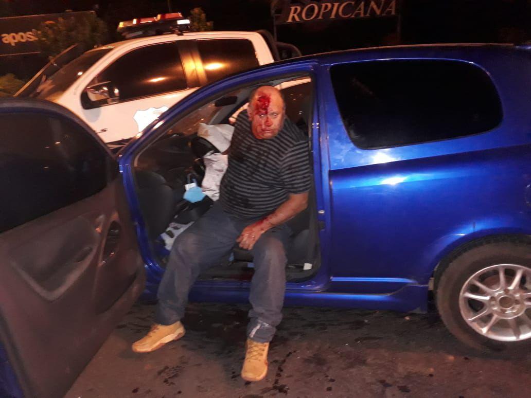 Raúl González Irala, de 44 años, protagonizó el accidente