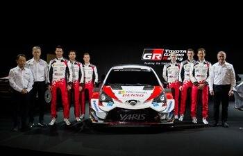 Sebastian Ogier estará en el equipo Toyota y tendrá como compañeros a Elfyn Evans y Kalle Rovanpera.