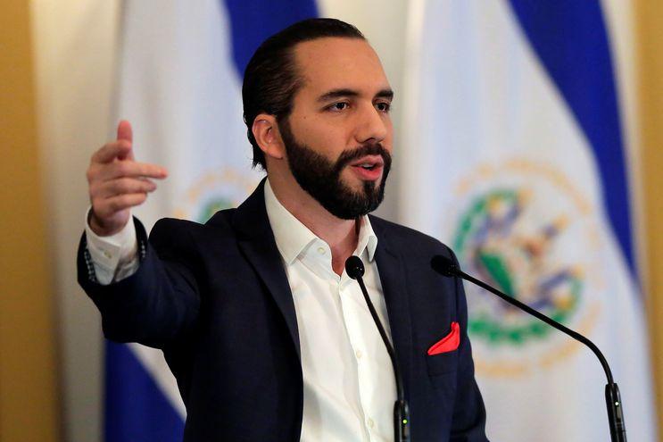 En la imagen, el presidente de El Salvador, Nayib Bukele.