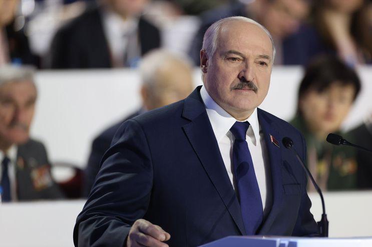 Alexander Lukashenko, presidente de Bielorrusia. Su gobierno ha sido calificado como la última dictadura de Europa.