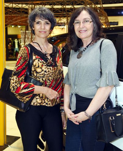 Edith Ostuni y Clotilde Lebron.