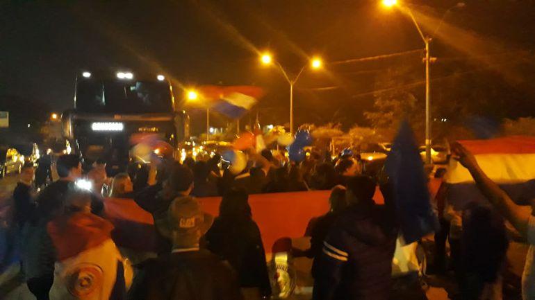 Manifestación en Itá.