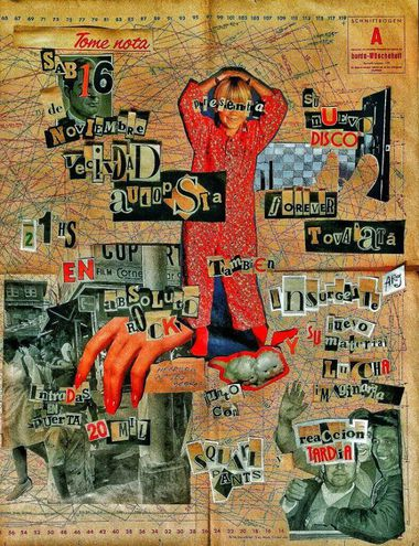 Afiche del show de presentación del nuevo disco de Vecindad Autopsia.