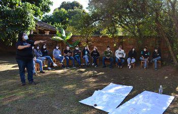 Líderes juveniles de Sonidos de la Tierra participan de un encuentro regional en San Juan, Misiones.