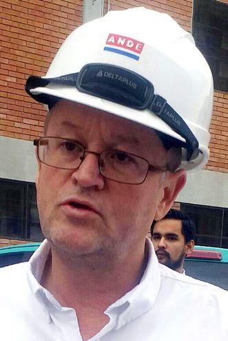 Ing. Fabián Cáceres, gerente Técnico de la ANDE.