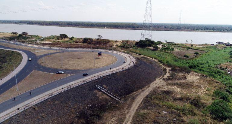 El puente Asunción-Chaco'i se conectará con la rotonda de la Costanera Norte.