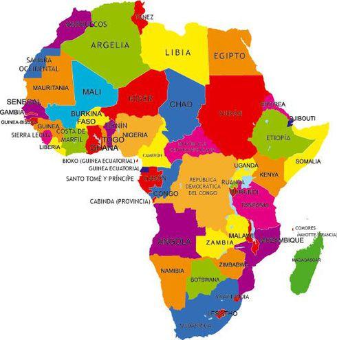 El Continente Africano Escolar Abc Color