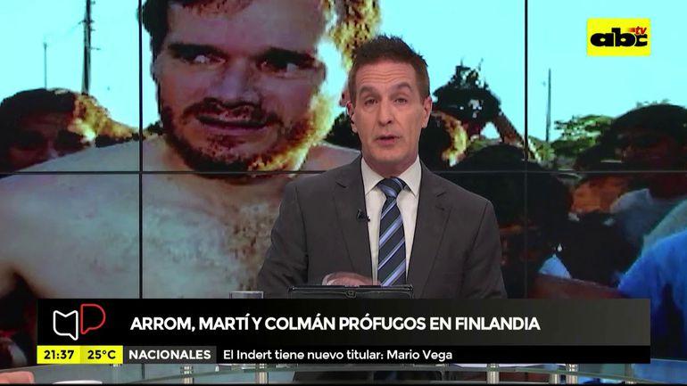 Fuga de Arrom, Martí y Colmán