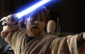 """Ewan McGregor como Obi-Wan Kenobi en """"Star Wars: Episodio III - La venganza de los Sith"""" (2005)."""