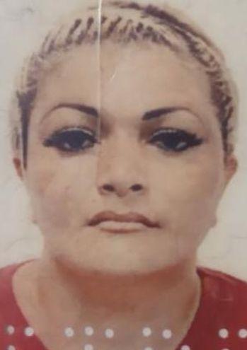 Zulma Ramona Dávalos de Rojas, asesinada.