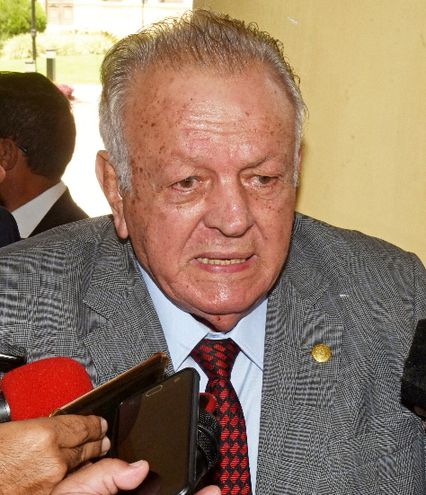 Juan Carlos Wasmosy, expresidente de la República y propietario de la firma que explota la quiniela desde 2015.