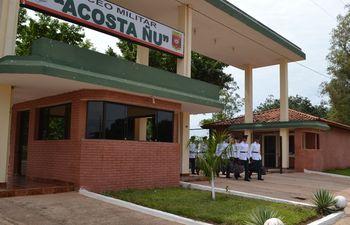 El Liceo Militar Acosta Ñu, en la ciudad de Ypané, es utilizado por cuidadanos que necesitan cumplir la cuarentena.