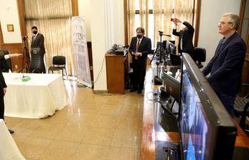 Hernán David Rivas juró como miembro del Jurado de Enjuiciamiento de Magistrados el pasado 9 de junio.