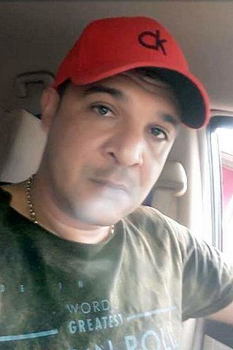 Suboficial Alcides Moura, detenido.