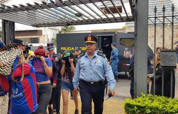 Hinchas de Cerro Porteño declaran hasta la Fiscalía.