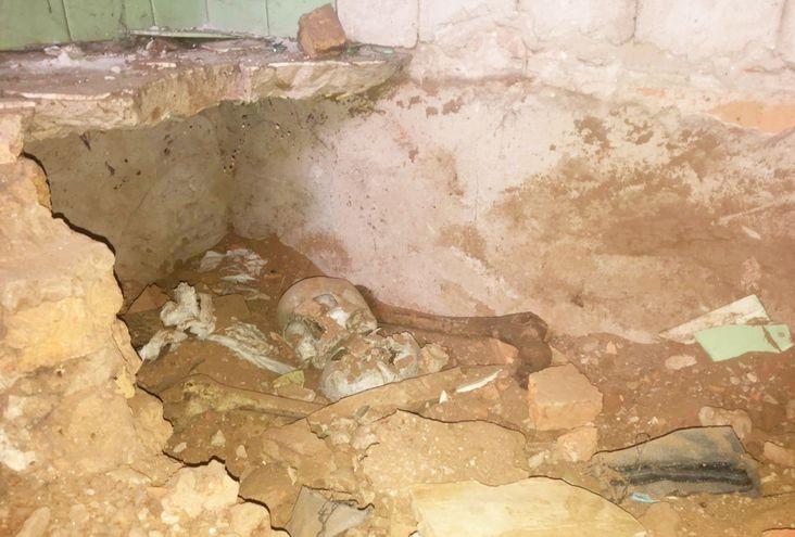 Los restos óseos hallados  estaban escondidos bajo una construcción en una casa que habría sido de Stroessner, en Ciudad del Este.