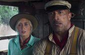 "Emily Blunt y Dwayne Johnson en ""Jungle Cruise""."
