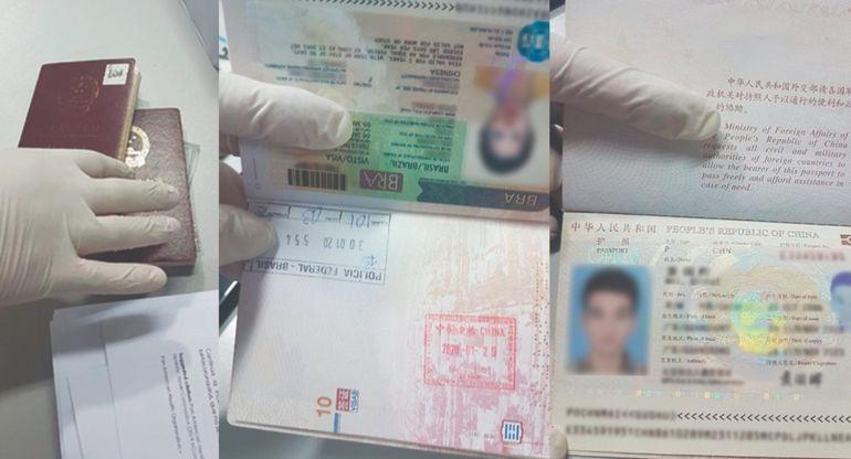 Los documentos presentados por los asiáticos, y por no contar con visa, fueron rechazados.