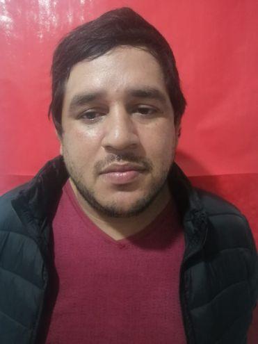 Víctor Gabriel Benítez León, detenido.