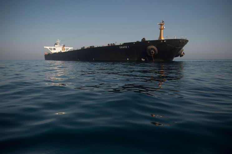 "El carguero iraní ""Grace 1""."