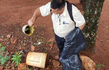 La mejor manera de combatir el dengue es la limpieza.