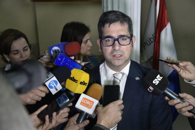Fiscal Marcelo Pecci.