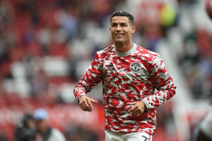 Cristiano Ronaldo cumple su segundo ciclo en el Manchester United. AFP