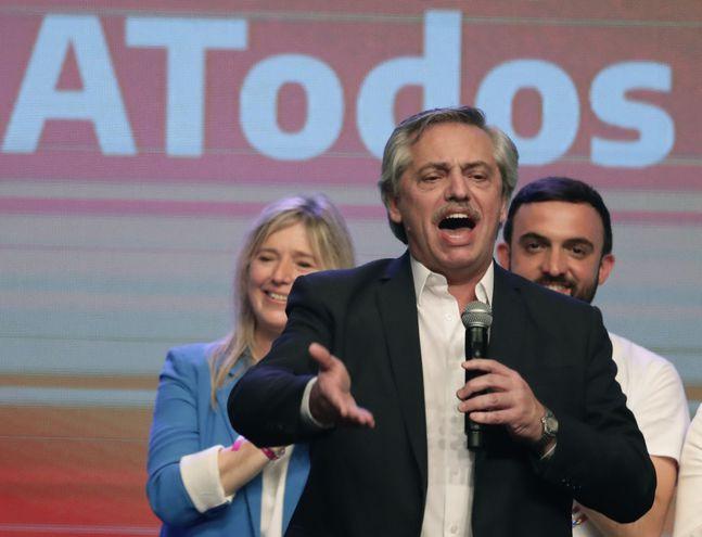 Alberto Fernández, presidente electo de Argentina.