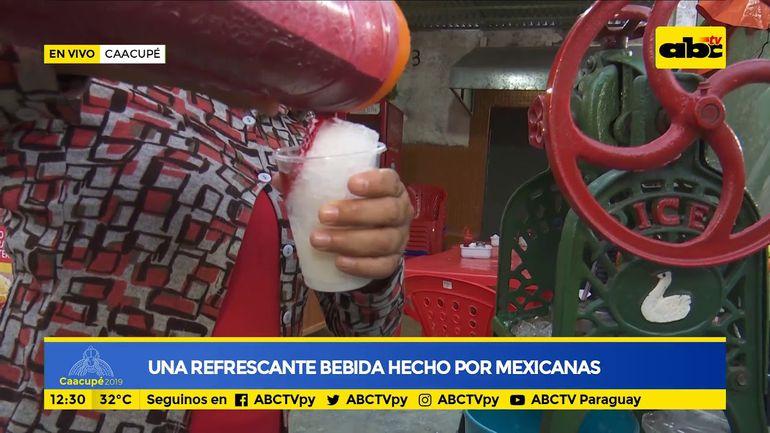 Una refrescante bebida hecha por mexicanas