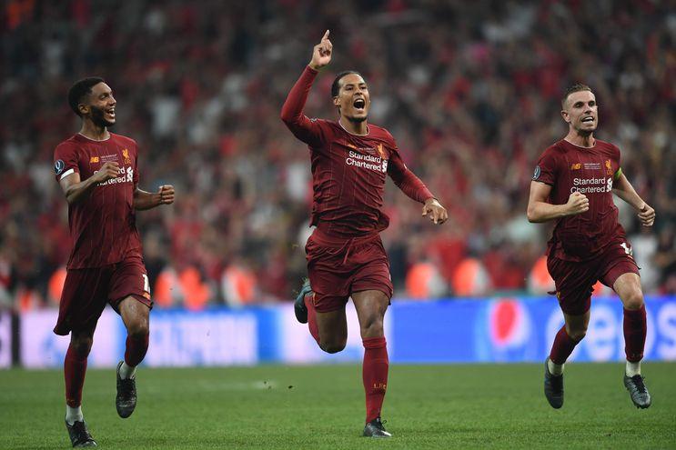 Liverpool ganó la Supercopa de Europa.