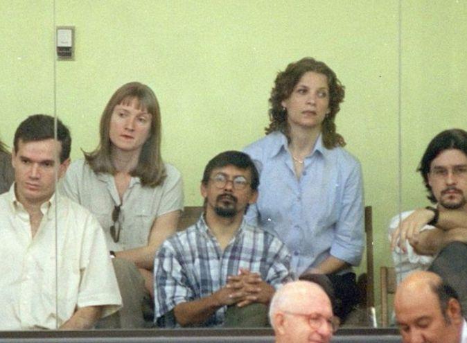 Juan Arrom (izq.) y Anuncio Martí (c) hasta hoy tiene tiempo para apelar la cancelación del refugio en Brasil.