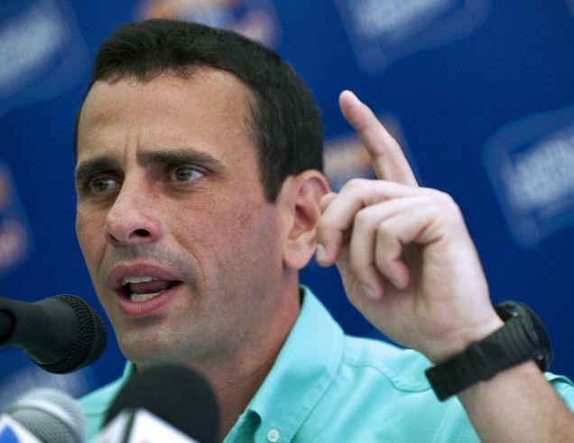 Henrique Capriles (Archivo).
