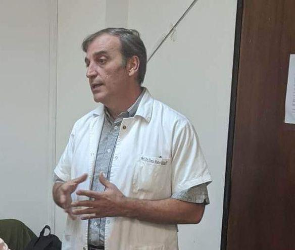 Prof. Dr. Tomás Mateo Balmelli.