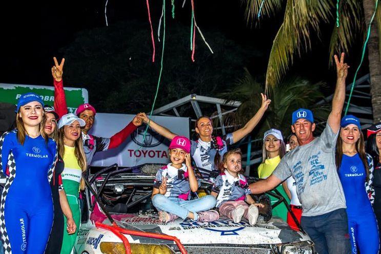 Cintia Flores, Rally del Chaco.