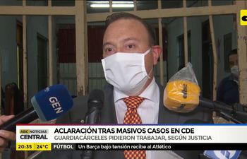 CDE: Guardiacárceles con covid son coaccionados a trabajar, denuncian