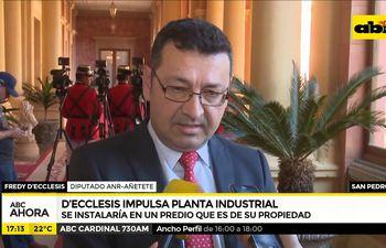 D'Ecclesiis impulsa planta industrial