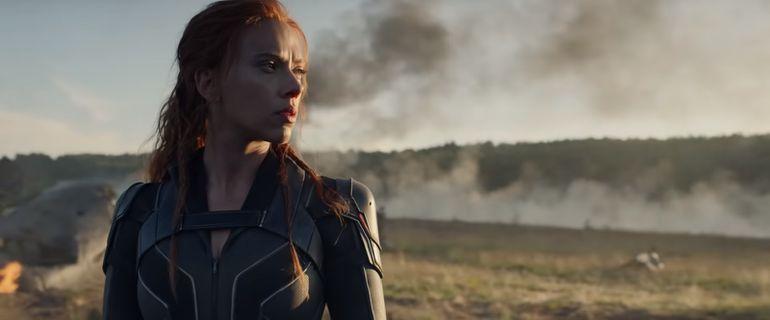 """Scarlett Johansson en """"Black Widow""""."""
