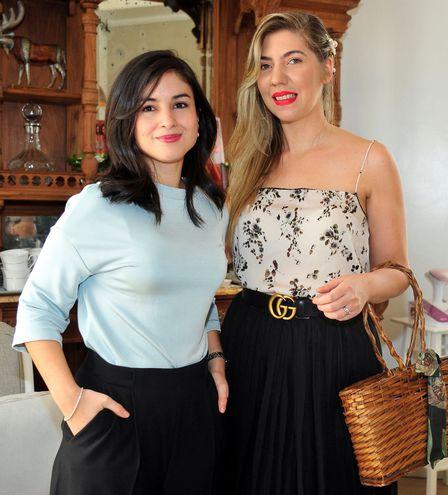 Patricia Benítez y Gaby García Doldán.