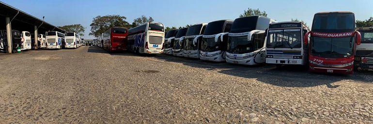 Ómnibus que realizan viajes de corta, media y larga distancias están paralizados desde marzo hasta la fecha. Uno de los sectores más afectados por la pandemia del nuevo coronavirus.