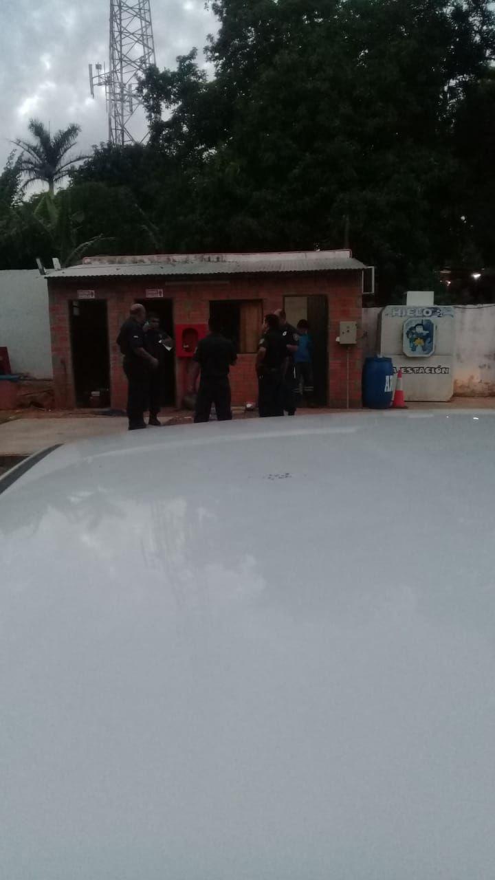Policías lograron frustrar un asalto a una estación de servicio en el Barrio Mita'i de San Lorenzo.