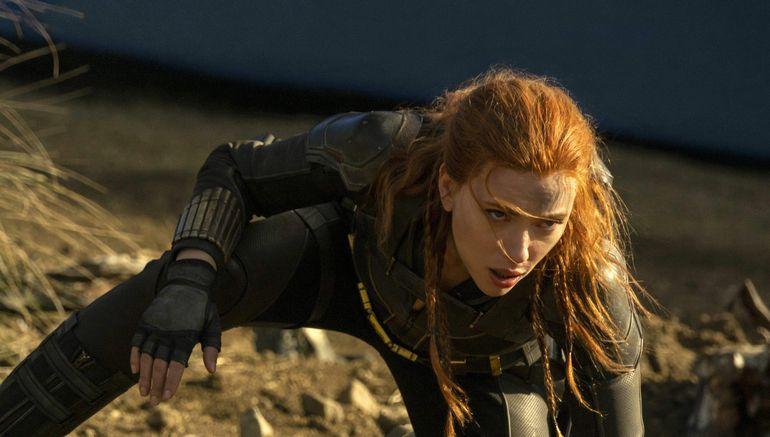 """Scarlett Johansson en """"Black Widow"""", que se estrena en cines y Disney+ en julio."""