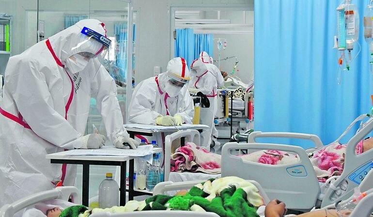 Las salas de cuidados intensivos continúan con una altísima demanda y desde hace varios días registran una ocupación del 100%.