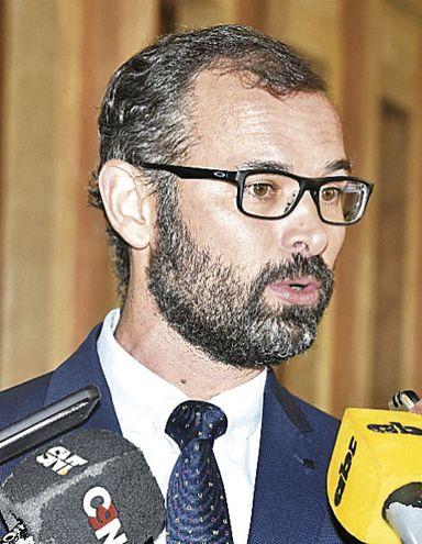Pablo Seitz Ortiz, titular de la Dirección Nacional de Contrataciones Públicas (DNCP), quien estableció la nulidad.