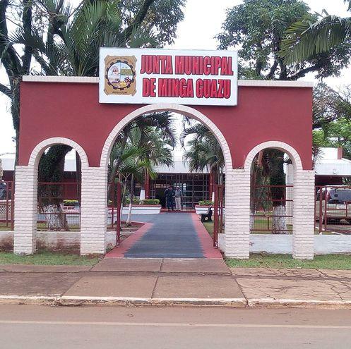 Las actividades de la Junta Municipal de Minga Guazú están suspendidas a raíz de que un concejal fue infectado con el virus.