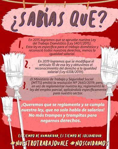 Uno de los afiches de la campaña exigiendo la reglamentación de la ley y el derecho a acceder a una jubilación digna.