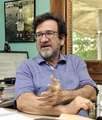 Fernando Fajardo, director del Centro Cultural Juan de Salazar.