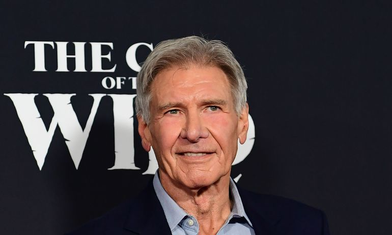 El actor Harrison Ford.