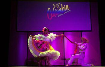 """Danzas tradicionales de Colombia formarán parte de la propuesta del Encuentro Folclórico """"Acuarela Paraguaya""""."""