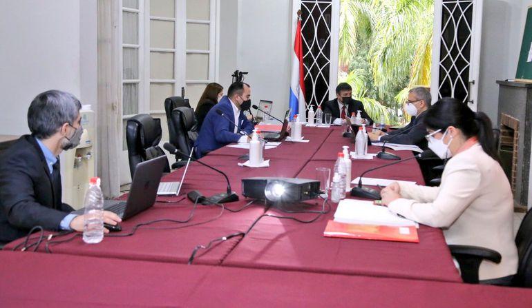 Sesión extraordinaria del Consejo de la Magistratura en la que se aprobó el proyecto d reglamento para conformación de terna.