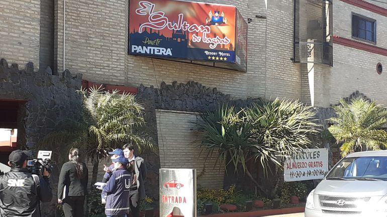 Un motel también fue clausurado esta mañana en San Lorenzo.